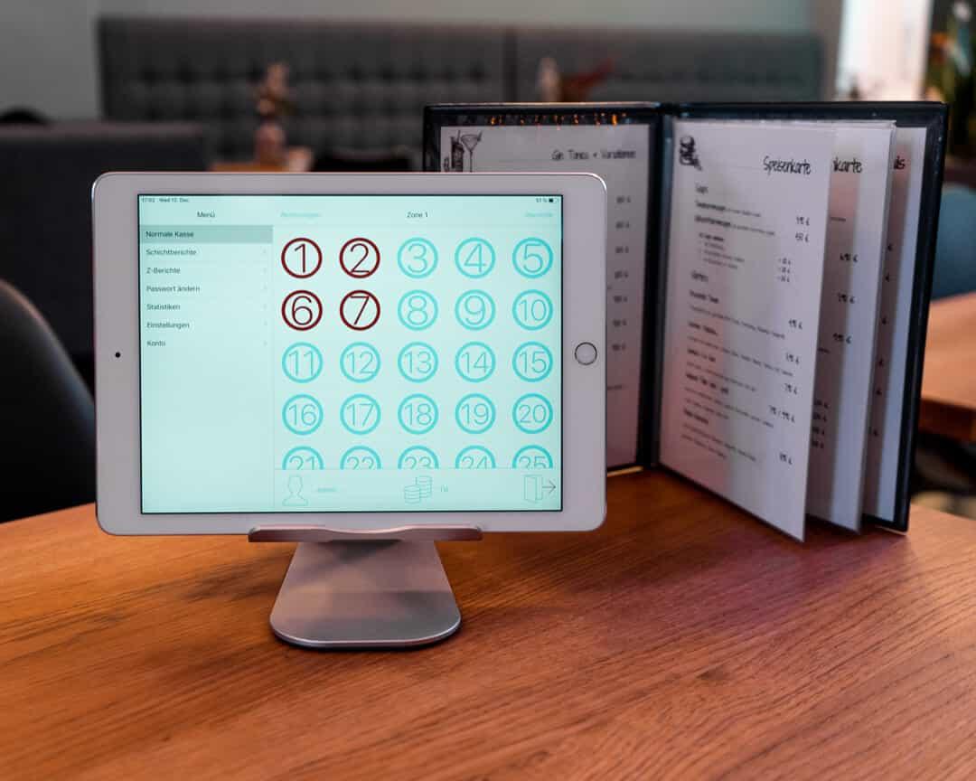 iPad Kassensystem einfache Bedienung