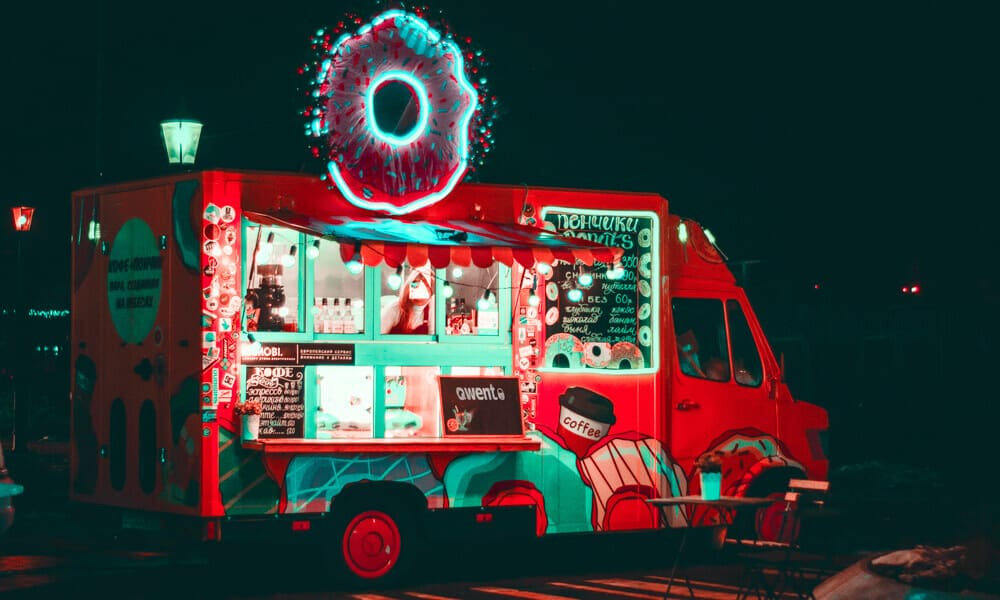 iPad Kassensystem Food Truck