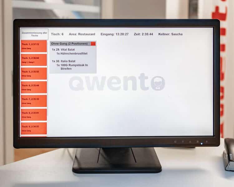 iPad Kassensystem Touch Monitor für Dein Restaurant