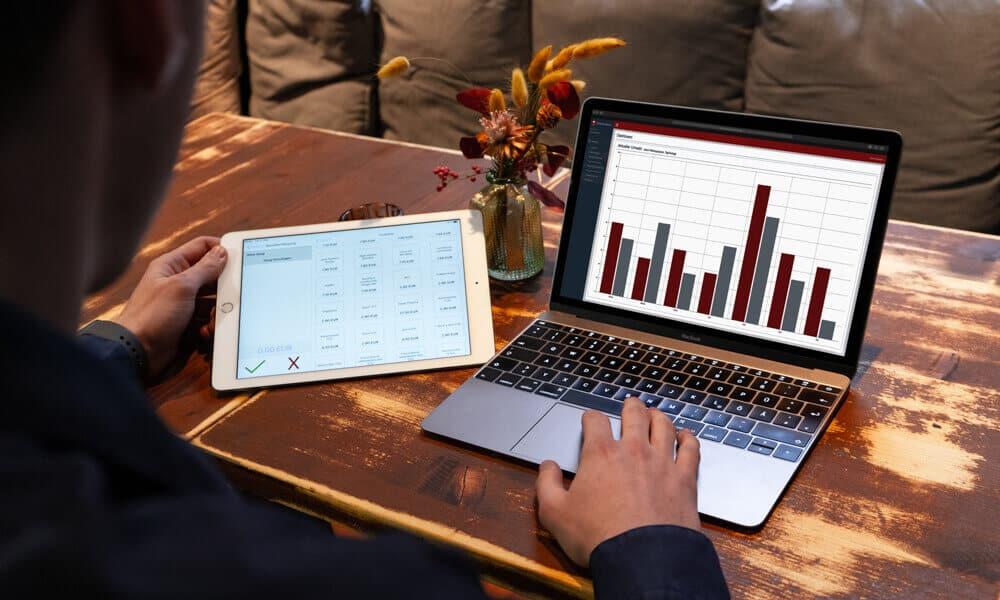 iPad Kassensystem Web-Statistiken